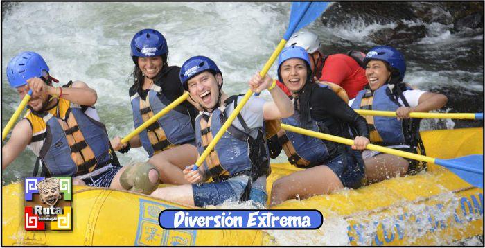 Ruta del Totonacapan Diversión Extrema, Balsas, kayak, Diversión, Ríos, Totonacas